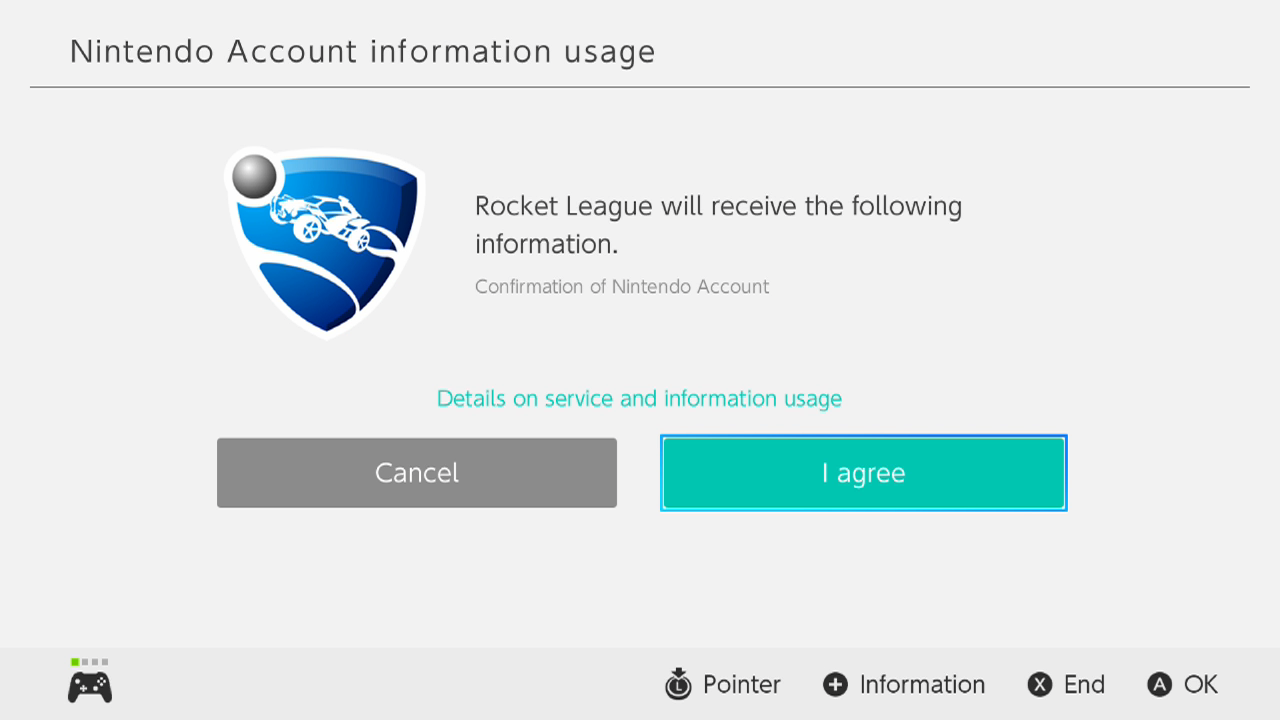 How do I Link my Nintendo Switch Account with Rocket League for Fan